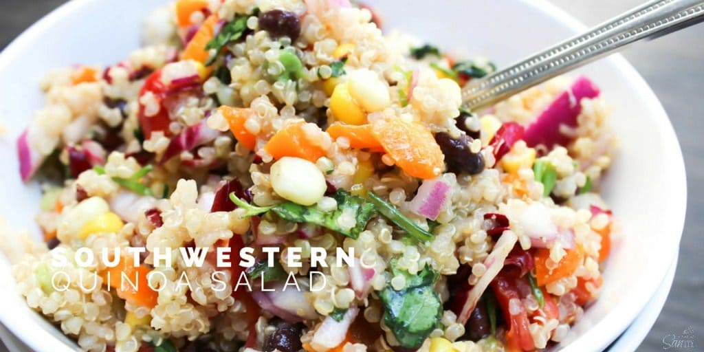 Southwestern Qionoa Salad Twitter