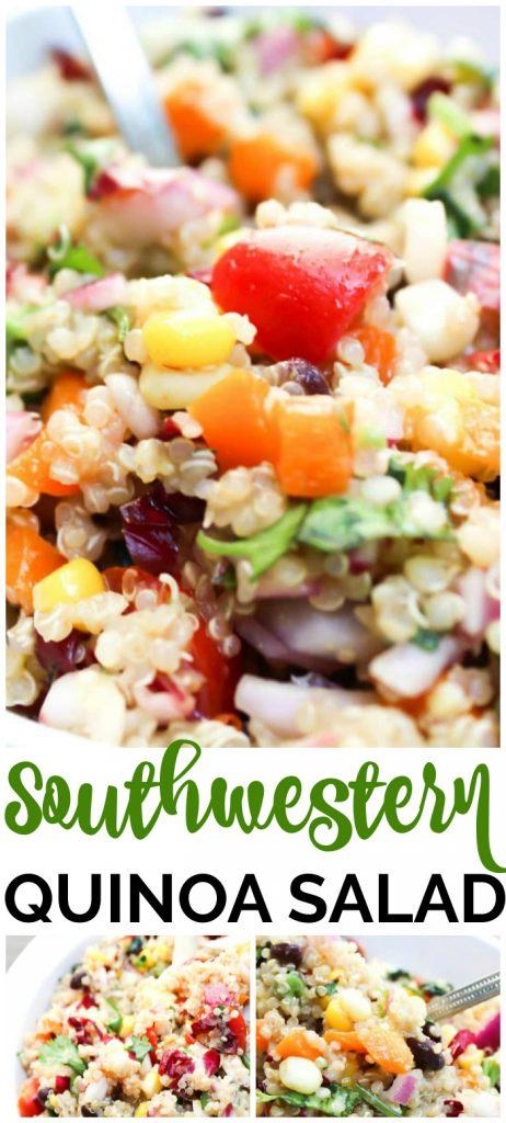 Southwestern Quinoa Salad pinterest image