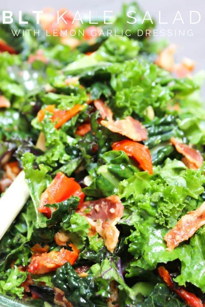 BLT Kale Salad