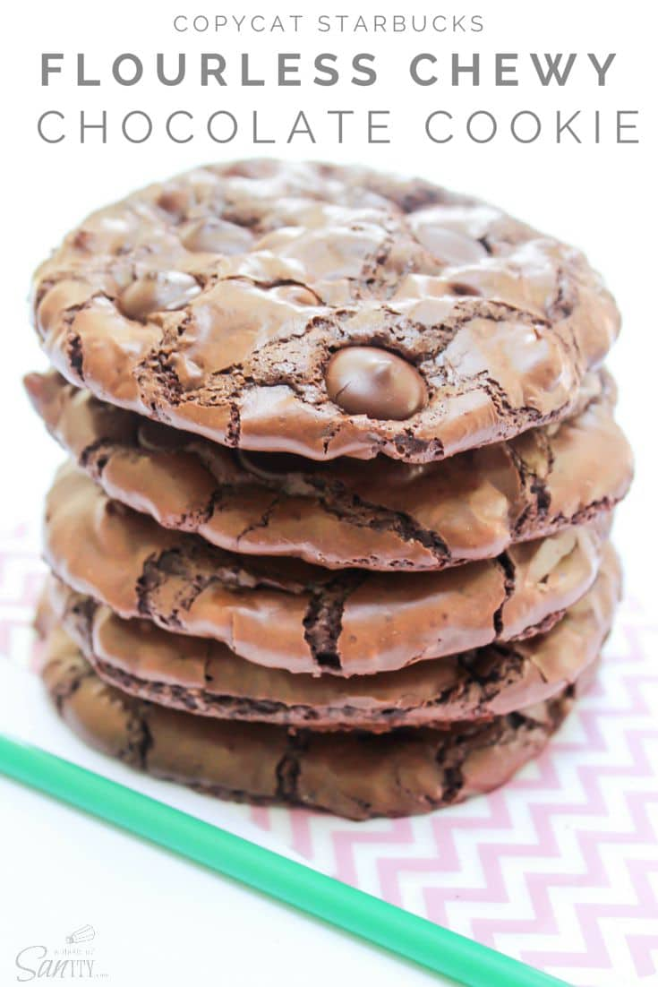 Chewy Chocolate Cookies Flourless