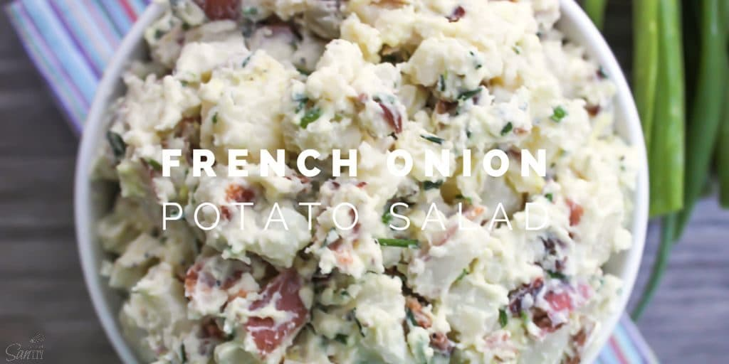French Onion Potato Salad Twitter