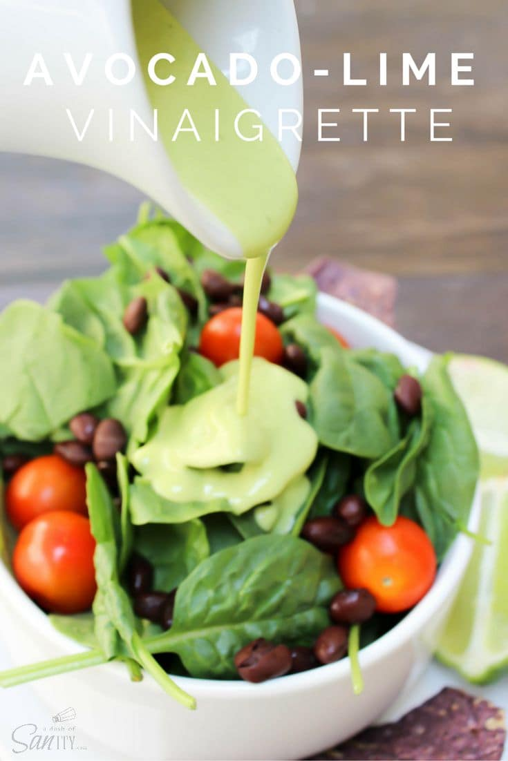 Avocado-Lime Vinaigrette & Blendtec Giveaway