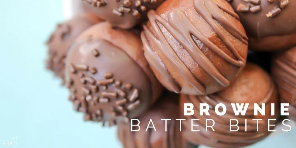 Brownie Batter Bites Twitter