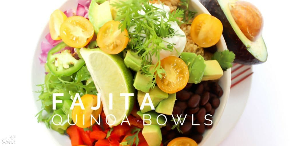 Fajita Quinoa Bowls Twitter