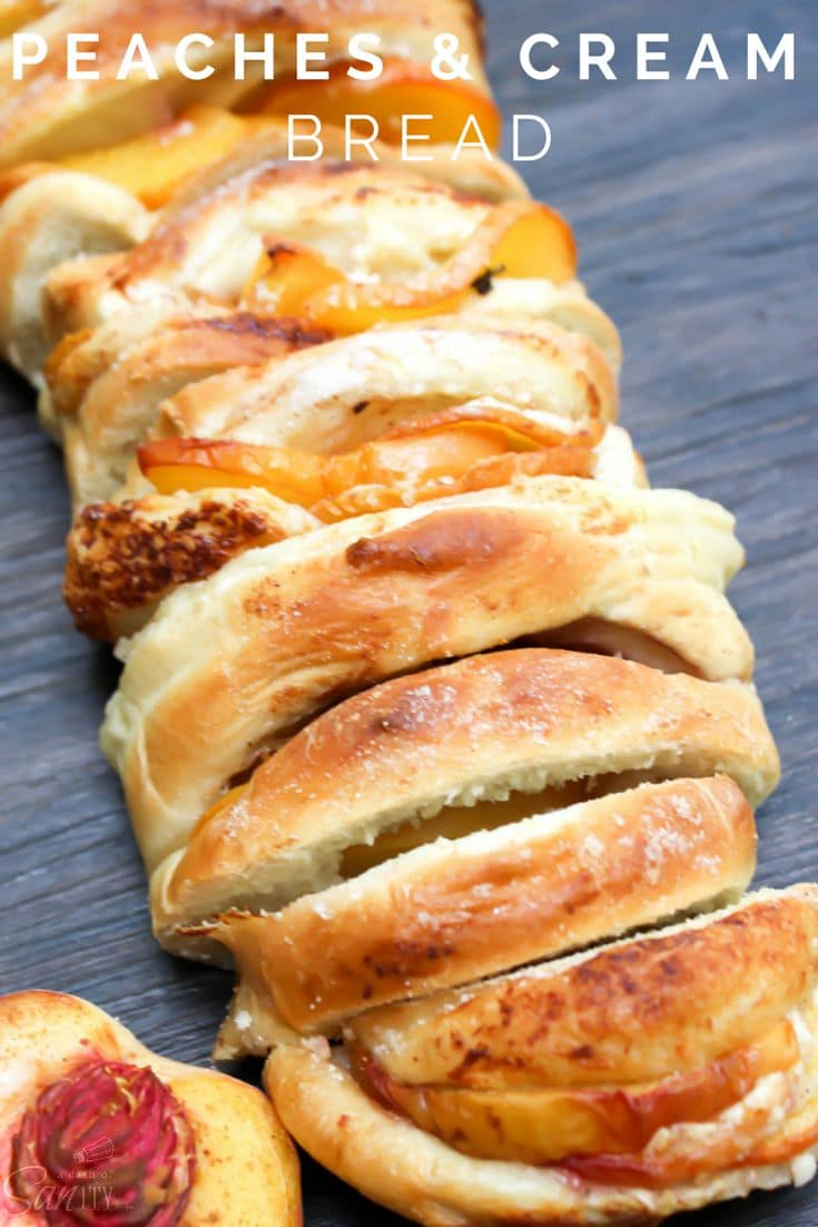 Peaches & Cream Bread
