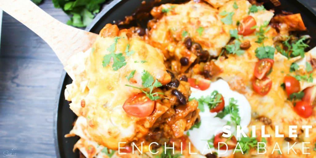 Skillet Enchilada Bake Twitter