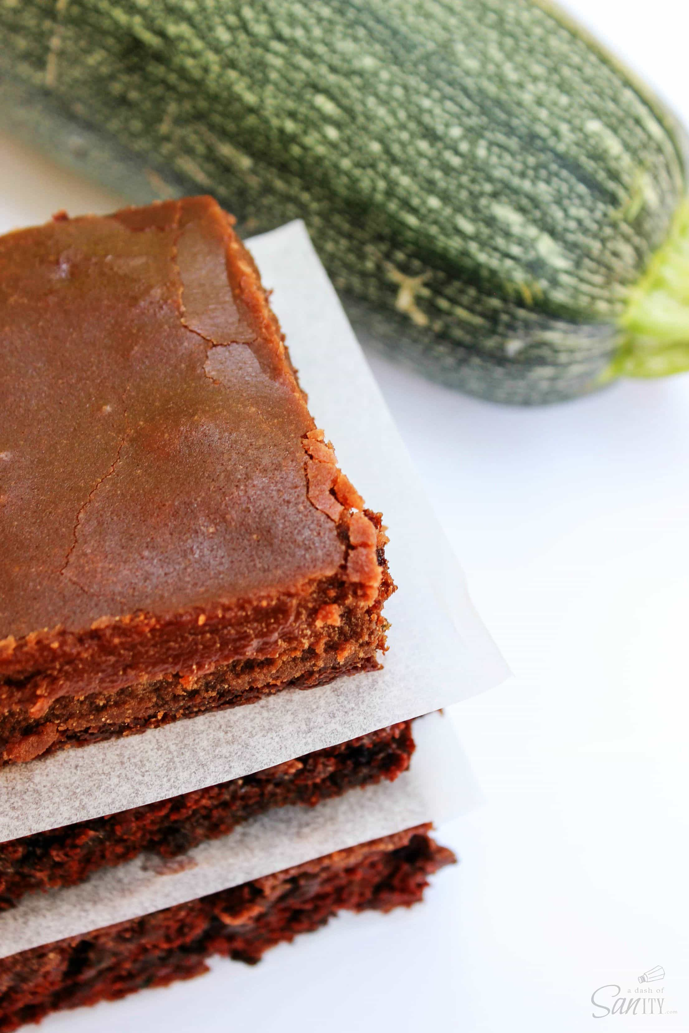 These Zucchini Brownies are rich, chocolaty, and made with no eggs. These delicious brownies made with fall's favorite squash will be made all year long.