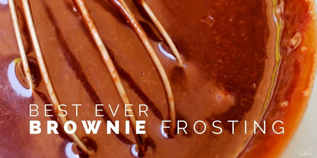 Best Ever Brownie Frosting Twitter