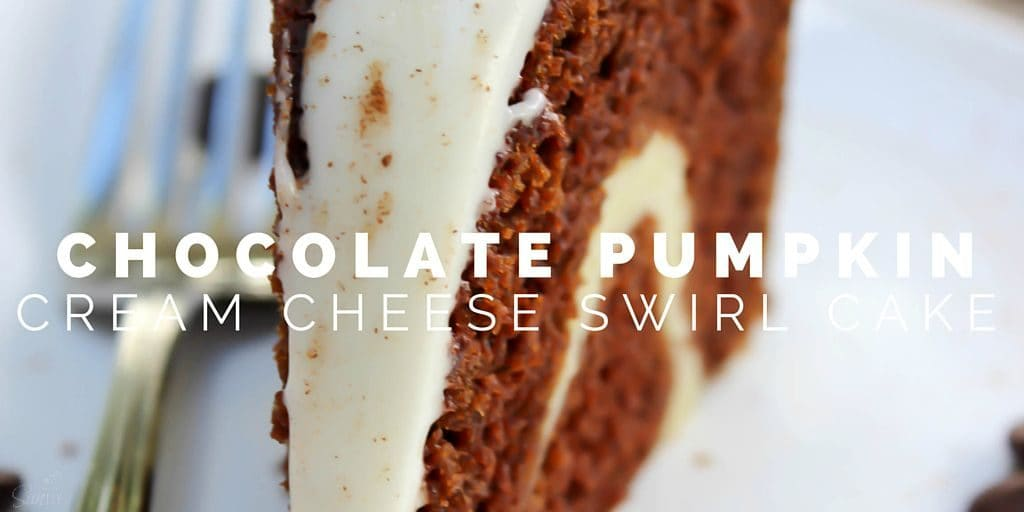 Chocolate Pumpkin Cream Cheese Swirl Cake Twitter