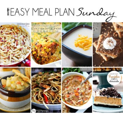 Easy Meal Plan Sunday {Week 14}