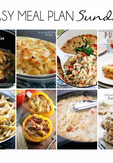 Easy Meal Plan Sunday {Week 15}