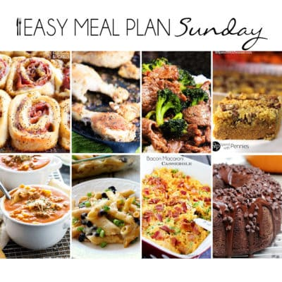 Easy Meal Plan Sunday {Week 16}