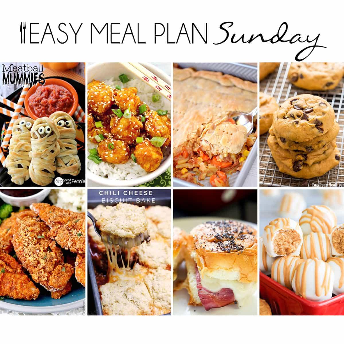 Easy Meal Plan Sunday {Week 17}