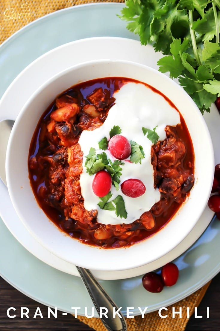 Cran-Turkey Chili
