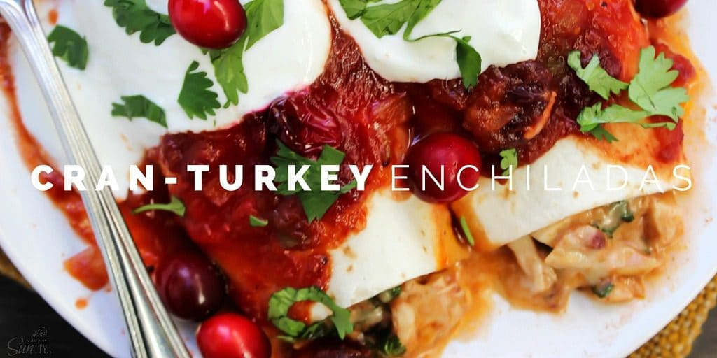 Cran-Turkey Enchiladas Twitter