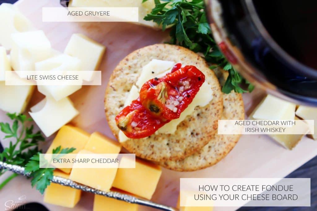 Fondue Cheese Board main