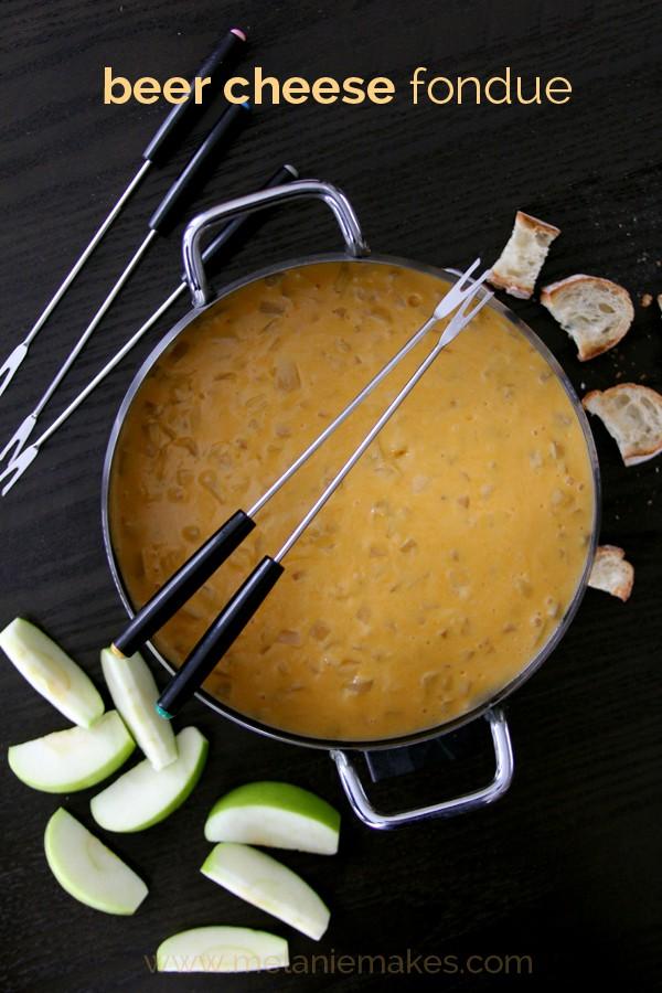 Melanie Makes, Beer Cheese Fondue