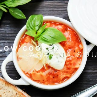 Slow Cooker Lasagna Soup FB