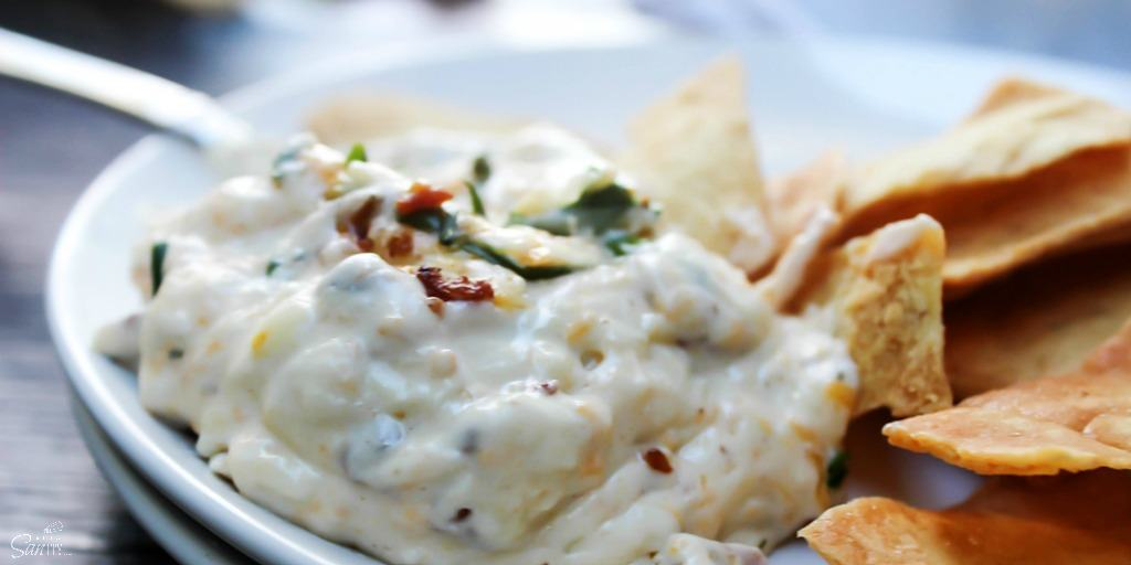 Creamy Bacon & Shrimp Dip is perfect for ringing in the New Year or for serving to hungry football fans. This cheesy dip is guaranteed to not last long.