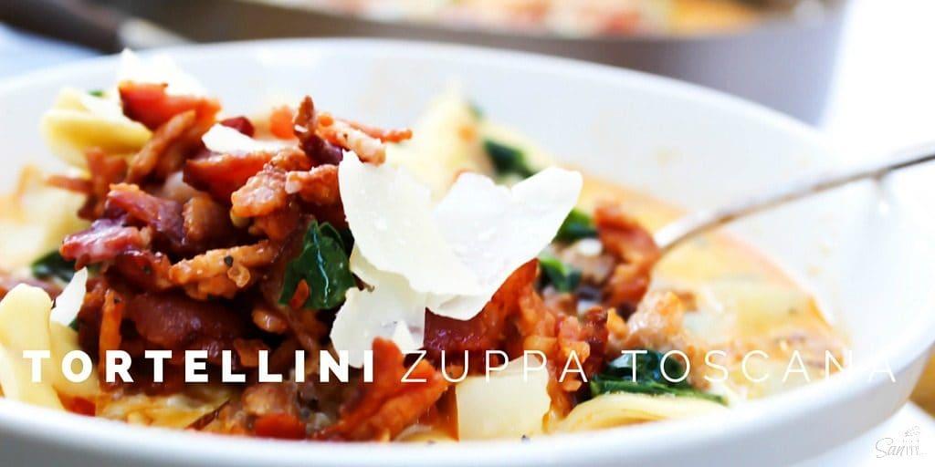 Tortellini Zuppa Toscana twitter