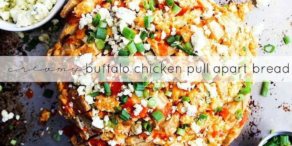 Buffalo Chicken Pull Apart Bread Twitter 2