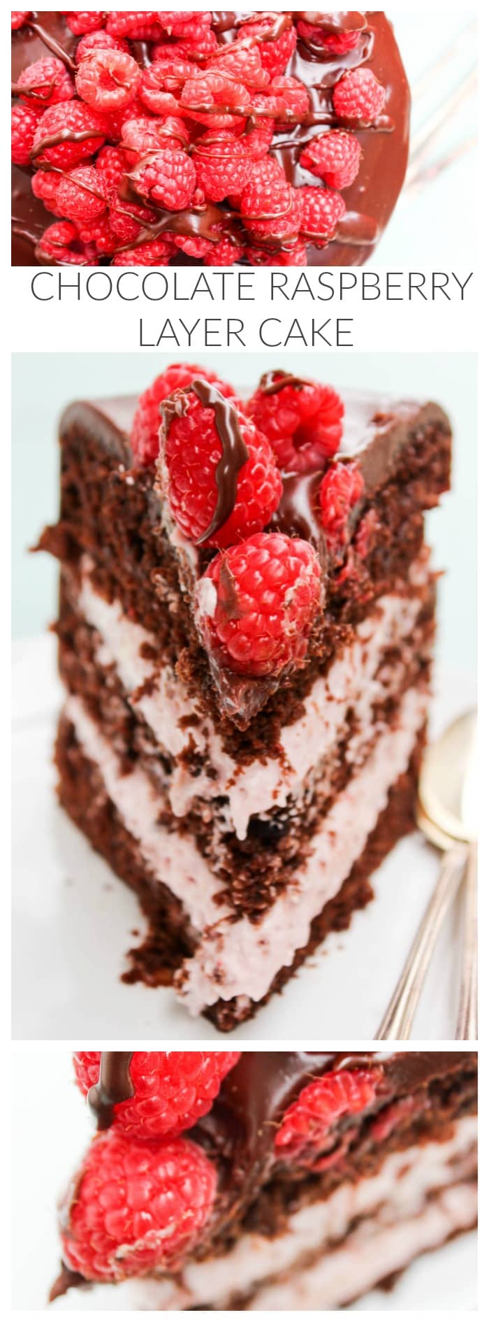 Raspberry Chocolate Cake Layer Recipe