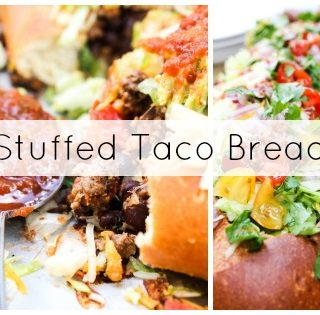 Stuffed Taco Bread Twitter