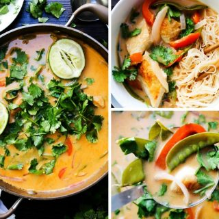 Thai Chicken Soup FB