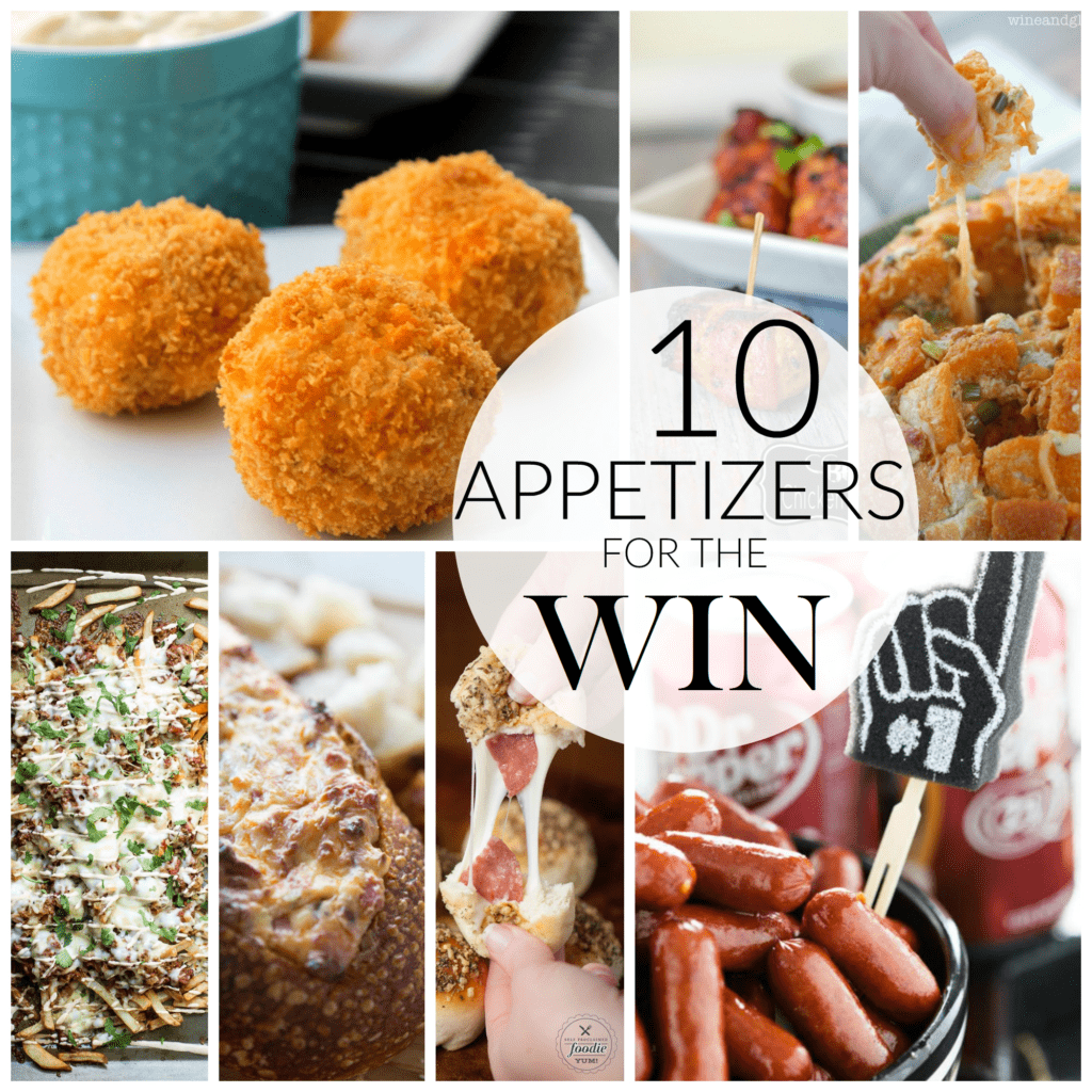 10 Appetizers FB