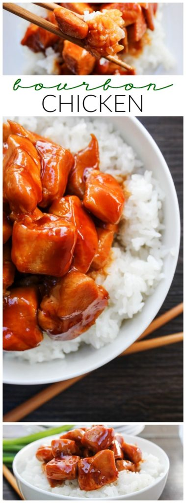 Bourbon Chicken - LONG PIN
