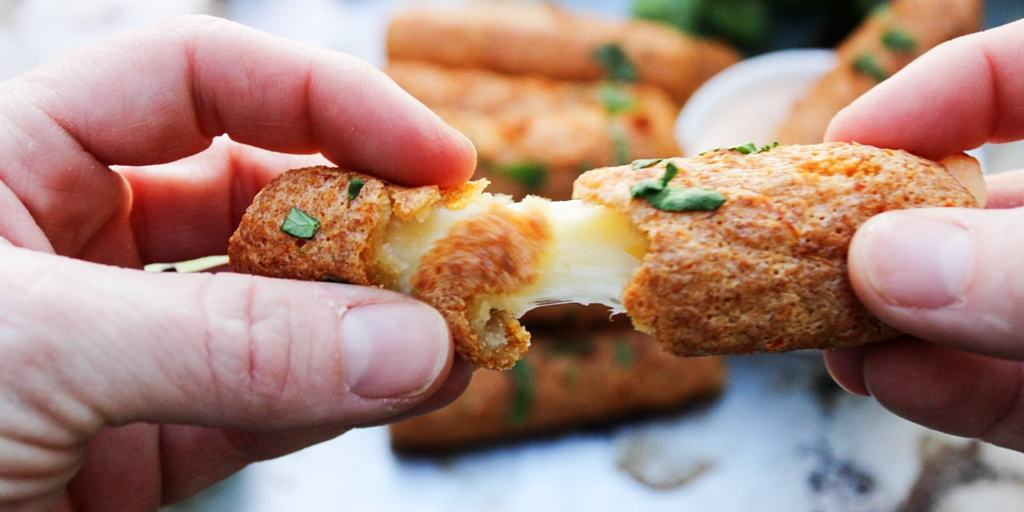 These easy to make Chipotle Mozzarella Sticks prove that big, bold flavors can come in bite-sized packages. They make a tasty, cheesy, and spicy appetizer.