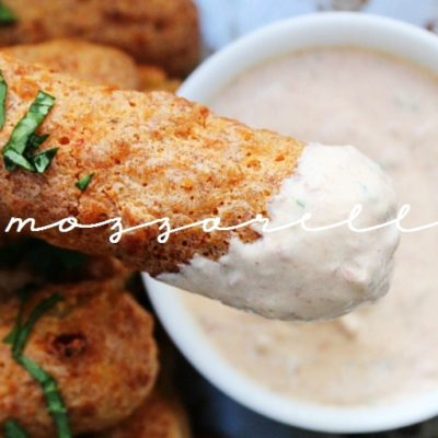 Chipotle Mozzarella Sticks