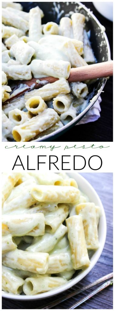 Creamy Pesto Alfredo LONG PIN