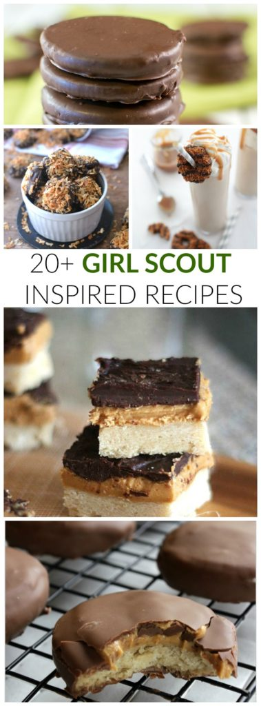 GIRL SCOUT INSPIRED RECIPES 20+