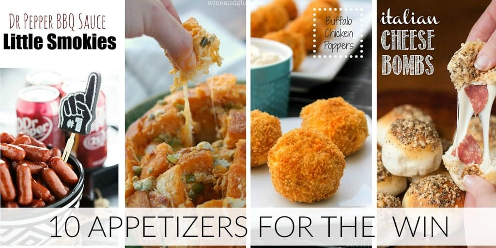 Game Day Appetizers Twitter