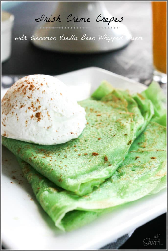 Irish Creme Crepes