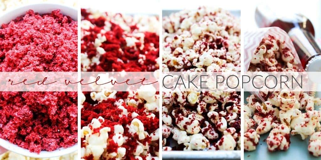 Red Velvet Cake Popcorn TWITTER