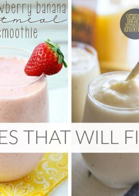 10 Smoothies That Will Fill Your Cup