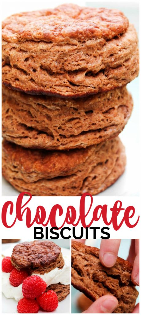 Chocolate Biscuits pinterest image