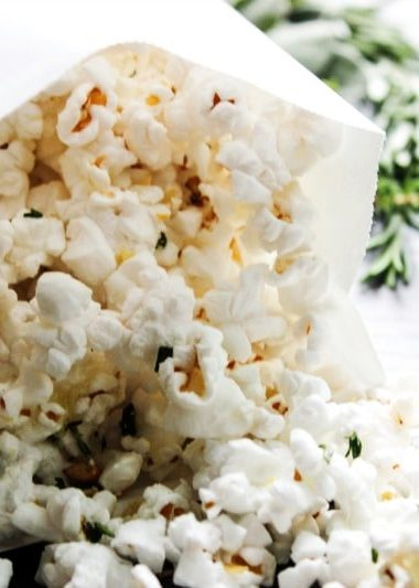 Garlic & Herb Popcorn
