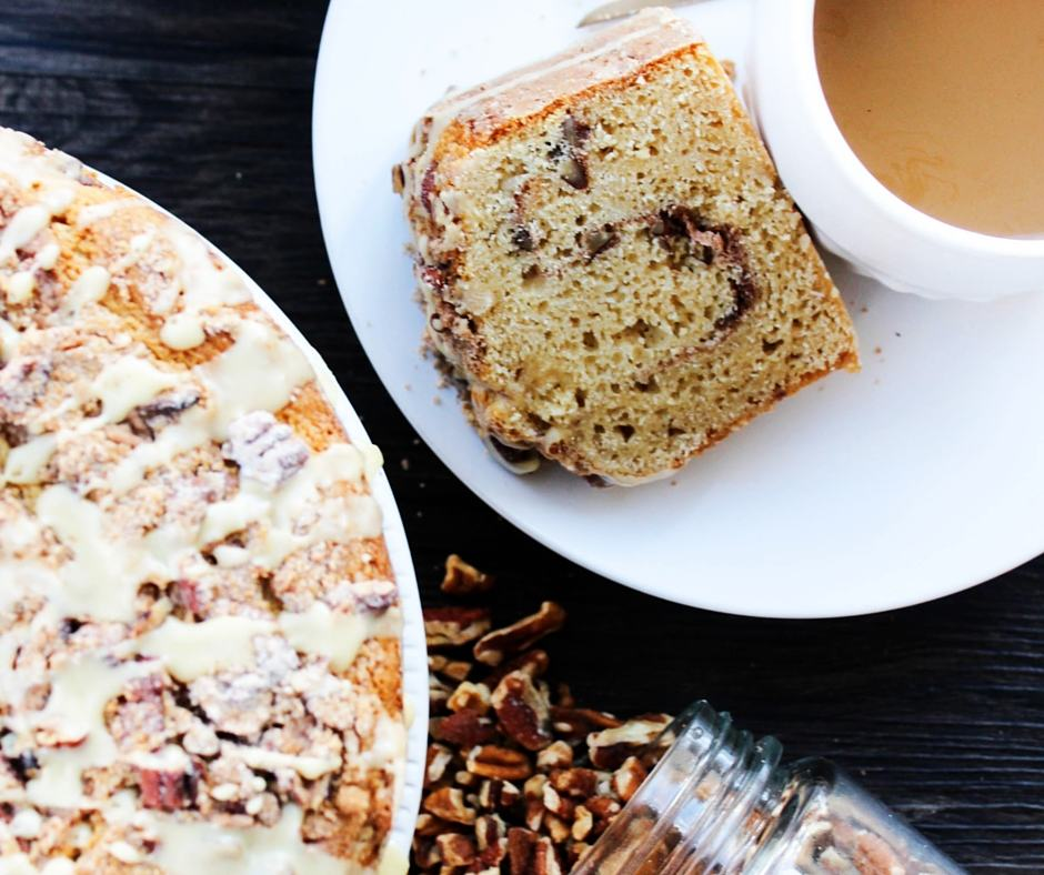 Maple Pecan Coffee Cake - A Dash of Sanity