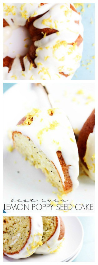Best Orange Poppy Seed Cake Ever