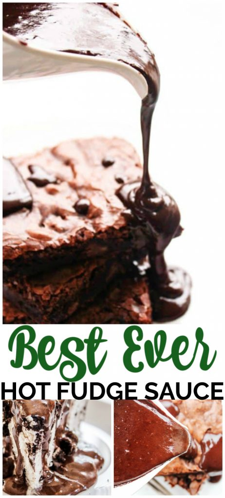 Best Ever Hot Fudge Sauce pinterest image