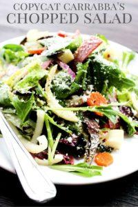 Copycat Carrabba's Chopped Salad PIN