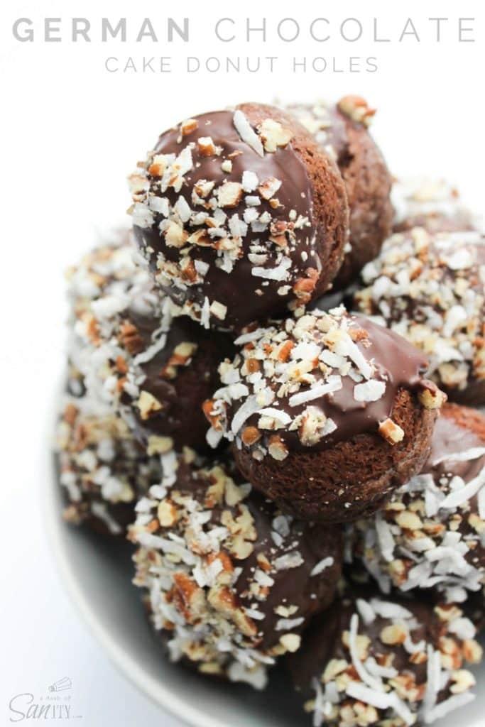 German-Chocolate-Cake-Donut-Holes-Pin