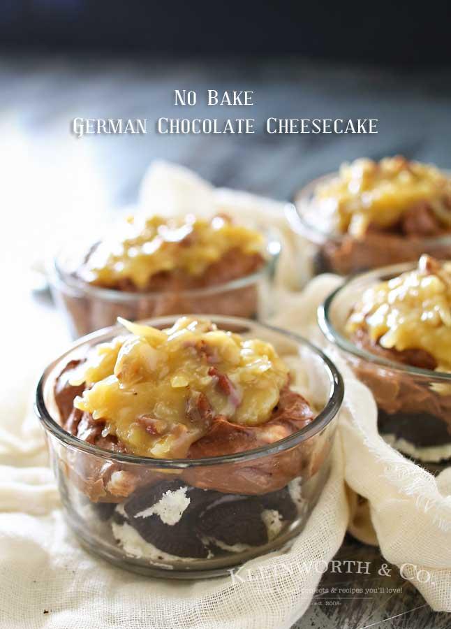 No-Bake-German-Chocolate-Cheesecake