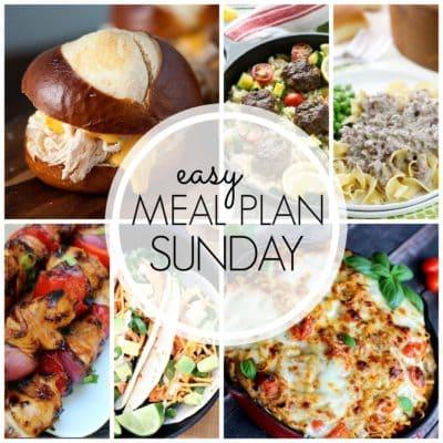 Easy Meal Plan Sunday {Week 53}