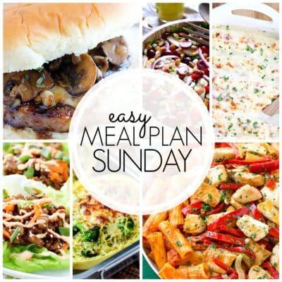 Easy Meal Plan Sunday {Week 51}