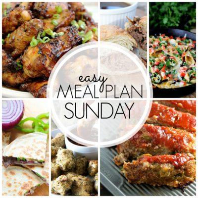 Easy Meal Plan Sunday {Week 52}