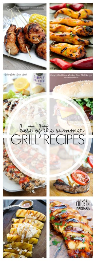 25+ Delicious Summer Grilling Recipes